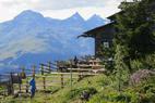 Anna-Schutzhaus bei Lienz unterhalb des Ederplan-Gipfels