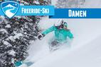 Zehn Freeride-Ski für Frauen 2015/2016 im Test: Powderlatten für Girls - ©Liam Doran   Skiinfo   OnTheSnow