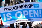 Mountain High open for 2015/16 season - Mountain High's first chair