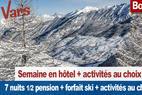 Semaine Vars en hôtel + forfait ski - ©Vars