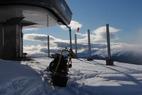 Fantastiske pudderbilder fra Voss Fjellandsby Myrkdalen tatt idag