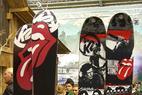 Weihnachtsgeschenke für Skifahrer: Rolling Stones Latten - ©Skiinfo.de