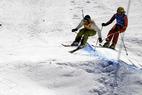 Skicross - Ophelie David und Tomas Kraus neue Gesamt-Weltcupsieger - ©Heli Herdt