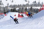 Spektakulärer Ski Cross Europacup am Sudelfeld - ©Hans Gerzer