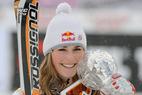 Lindsey Vonn an der Spitze des US Ski Teams - ©Red Bull
