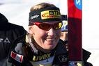 Hilde Gerg holt sich den Sieg beim Super-G der Damen in Veysonnaz - ©G. Löffelholz / XnX GmbH