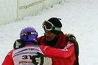 Anja Paerson pflückt Slalom WM-Titel von der Sonnenwiese in St. Anton - ©XNX GmbH