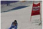 Carole Montillet feiert ihren ersten Sieg im Super G von Garmisch - ©XNX GmbH