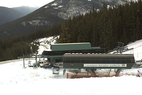 Early season snow is building at Marmot Basin. Photo courtesy of Marmot Basin webcam.  - Early season snow is