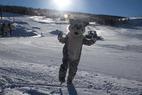 Ski Granby Ranch mascot. - Ski Granby Ranch mascot.