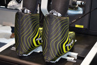 Ski boots in Fischer's new Vacuum Comfort system with cool pads - ©Skiinfo