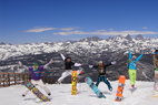 Top Spring Skiing Destinations: Mammoth Mountain - ©Courtesy of Mammoth Mountain