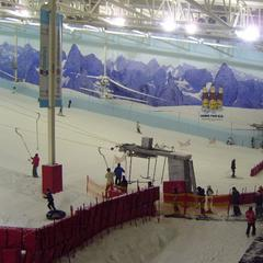 Chill Factore indoor ski, UK