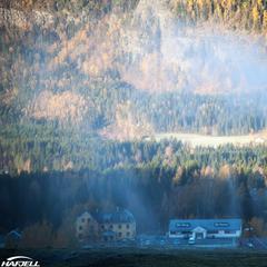 Her kommer vintern - ©Hafjell