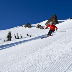 Alpine Meadows CA skiing