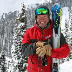 Tommy Moe at Jackson Hole