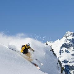 """Die schönsten Skisafaris - Hotspot 4: """"Ride Along"""" Oberstdorf-Lenzerheide - ©Warth-Schröcken Tourismus"""