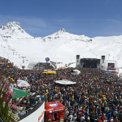 Top of the Mountain concert in Ischgl