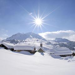 hameau du Chinaillon - ©P-Lebveau / OT Le Grand-Bornand