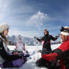 Inverno in Friuli Venezia Giulia - Relax in famiglia - ©Pentaphoto