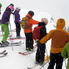 Cat skiing with friends is like having your own forest and your own limo driver. - ©Linda Guerrette