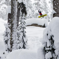 Whistler Blackcomb secret stashes - ©Jussi Grznr