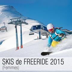 Test skis freeride femmes 2015 - ©mRGB - Fotolia.com