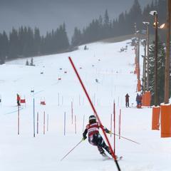 Flere skoler og alpinlag har er på Kvitfjell nå. - ©Christian Bråtebekken
