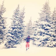 Powder day in Vail, USA - ©Ashley e's iPhone