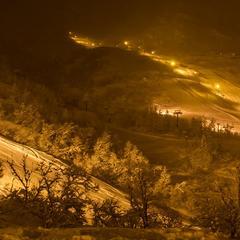 Her blir det hvit jul! - ©Eikedalen