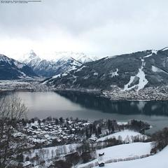 Snow in the Austrian Alps Jan. 12, 2015