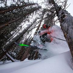 Wolf Creek powder skiing