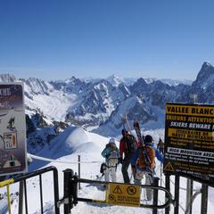 Skigiebiet Chamonix-Mont Blanc - ©Stefan Herbke
