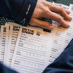 Ski Test cards - ©Liam Doran