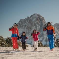 Familie in Dolomiti Superski - ©www.wisthaler.com