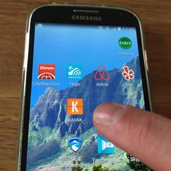Mit den richtigen Apps kann man auf einer langen Reise viel Zeit, Geld und Nerven sparen - ©Bergleben.de