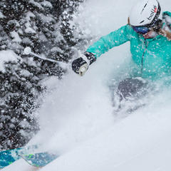 Women's Powder Skis - ©Liam Doran