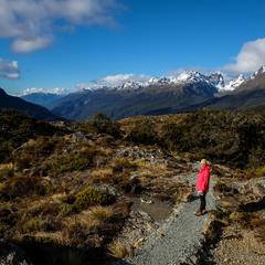 Unterwegs auf dem Key Summit Track - ©Julia Mohr