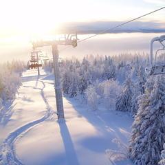 Kvitfjell in Norwegen bekam diese Woche Schnee ab - ©Kvitfjell