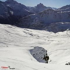 St. Anton am Arlberg bietet derzeit gute Bedingungen