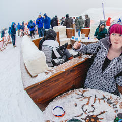 Nicht nur beim Snowbombing ist in Mayrhofen wilde Party angesagt - ©Mayrhofner Bergbahnen