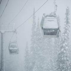 Whistler gondolas - ©Mitch Winton at Coast Mountain Photography