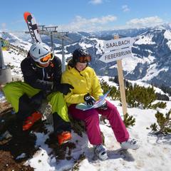 Saalbach und Fieberbrunn gehören nun zum selben Skigebiet - ©Schoellkopf