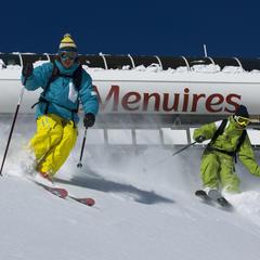 domaine skiable des Menuires - ©P. Royer