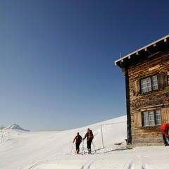 Schatzberghütte: Skitour auf den Joel und Lämpersberg in Wildschönau, Tirol - ©Nobert Eisele-Hein