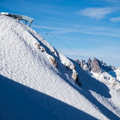 Mammoth in moguls - ©Liam Doran