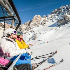 Skifahren in den Dolomiten: Sonne (fast) garantiert - ©Trentino Marketing Photo Archive