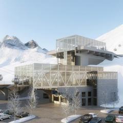 Neue Talstation Alpe Rauz - ©Arlberger Bergbahnen