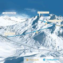 Neue Gondelbahnen am Arlberg - ©Arlberger Bergbahnen