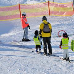 Ski-Anfänger in Hochfügen - ©Wörgötter